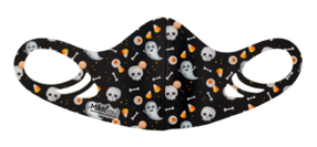 MF6 Antimicrobial Spacer Face Mask - Ghost Skeleton Assorted
